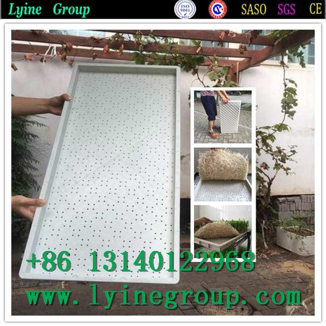 Hydroponics aluminium trays