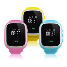 Children Baby Smart Watch Phone GPS Tracker Security Monitor Anti-lost SOS Children GPS Wrist Watch Phone GSM Unlocked Quad-band