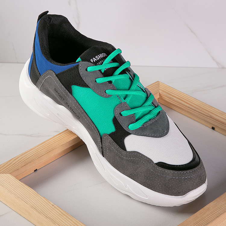 Mesh lining material fancy mens badminton sport shoes