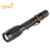 Hot selling high power black super bright long distance torch light high beam rechargeable led flashlight