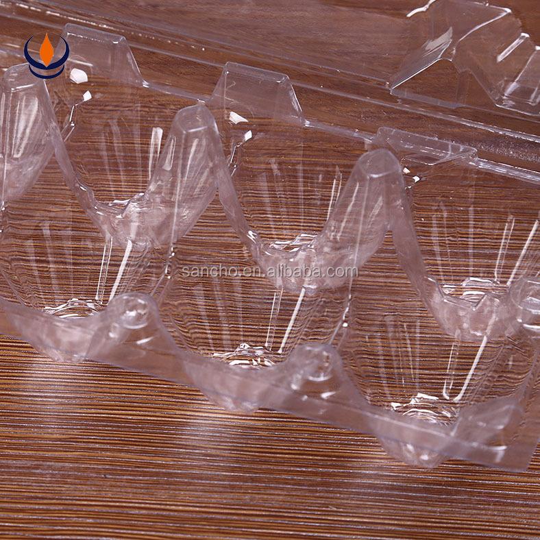 Пластиковый контейнер для упаковки яиц