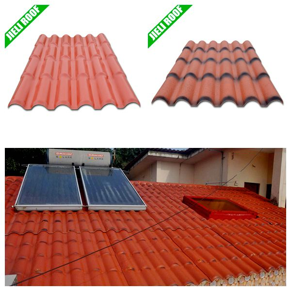 Corrugated Colored Upvc Plastic Roofing Sheets For House