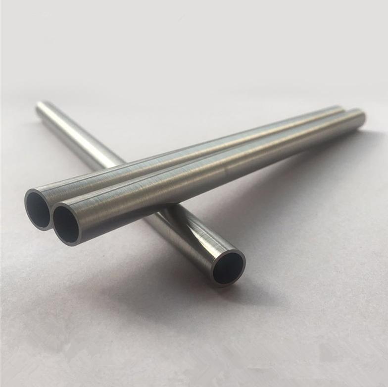 Вольфрамовая трубка разного типа W1, поверхность трубы по технологии токарного станка