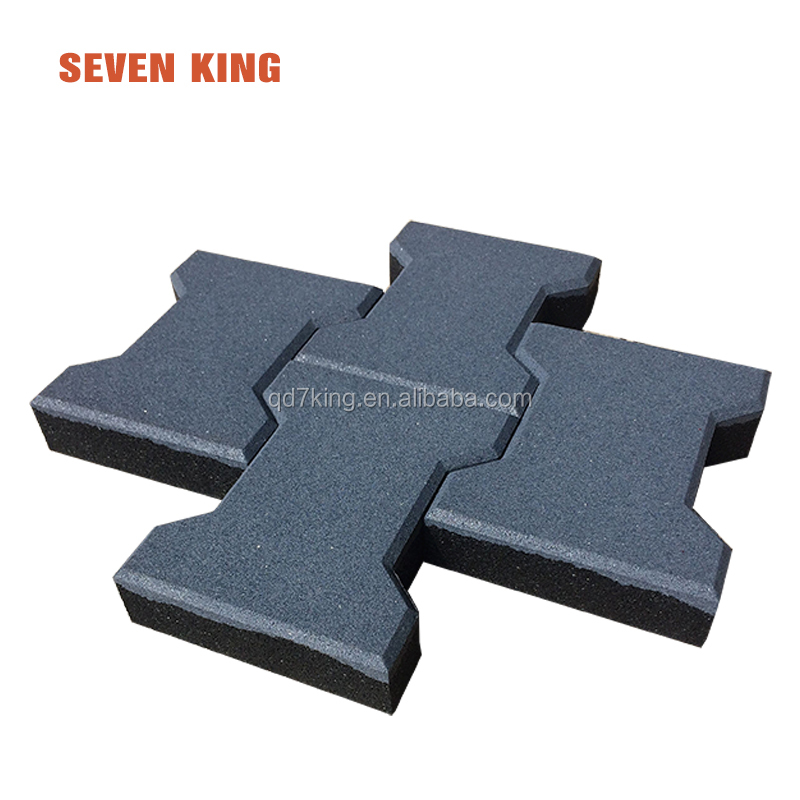 110mm Thickness Rubber floor mat for playground