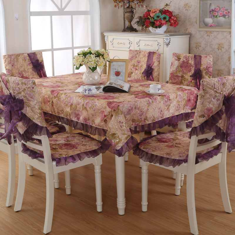 Dining Room Table Chair Covers: Hot Sale Fashion Dining Table Cloth Chair Covers Cushion