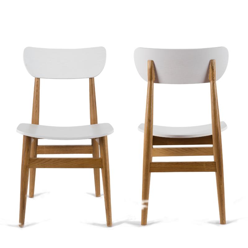 2x sedie moderne sedia da pranzo panca di legno sedia per for Sedie legno moderne