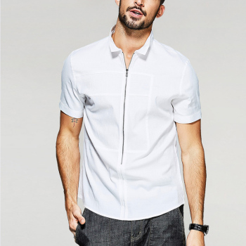 Fashion Pointed Collar Latest Shirt Designs For Men Dress Shirt Slim Fit