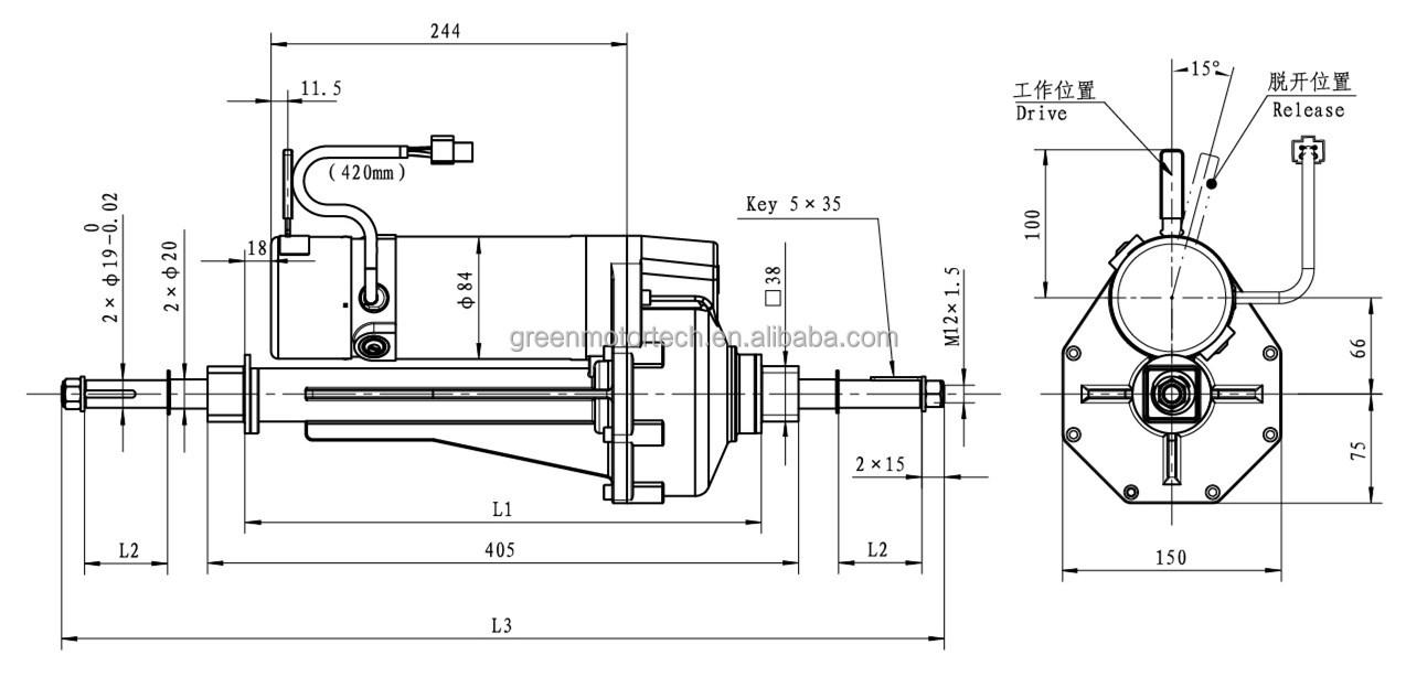 Electric Motor Gearbox Diagram Circuit Connection Diagram