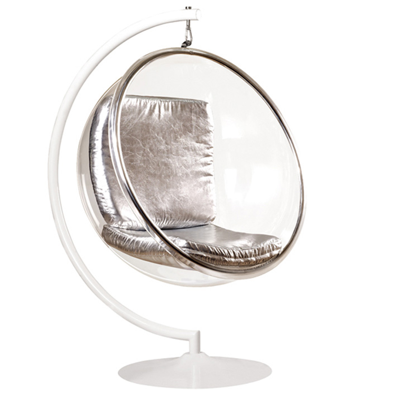 transparent swing bubble chairs with hanging