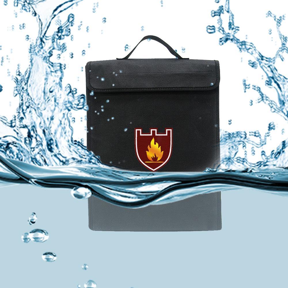 Безопасная Взрывозащищенная сумка для аккумуляторов, огнеупорная водонепроницаемая сумка для хранения документов, дома и офиса