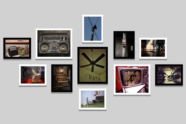 Жизнь семидесятых и восьмидесятых старых объектов ностальгический ретро фото стены кадр декоративной живописи картины ресторан гостиницы