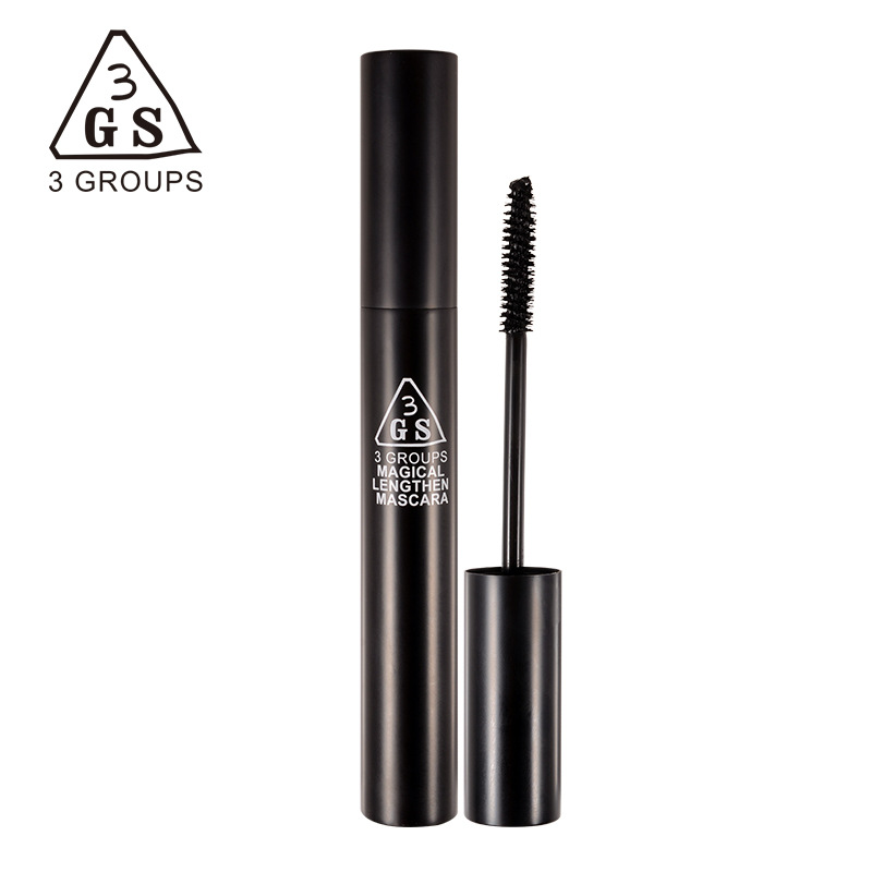 3gs black box waterproof mascara long thick curl anti blooming single head cils wholesale brand. Black Bedroom Furniture Sets. Home Design Ideas
