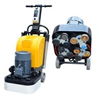 12 Heads Concrete Grinding Machine 5.5KW Grinder For Epoxy Removing