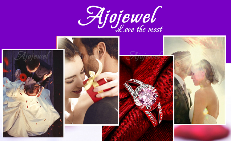 חם למכור Ajojewel מותג אביזרי אופנה העתיקה דרך רטרו וינטג שחור CZ לבן אופל תכשיטים טבעות לנשים