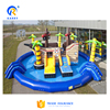 The color of inflatable pool can be customized