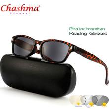 Новый фотохромные очки для чтения Для женщин рамки пресбиопии очки с диоптриями 1,0 1,25 1,50 1,75 2,0 2,50(Китай)