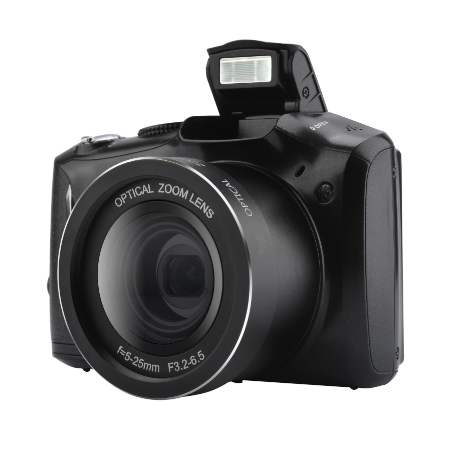 24MP DSLR Camera with 3.5' TFT display and 4X Digital Zoom Video Camera