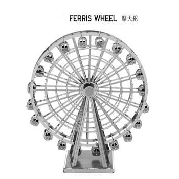 Educational Toys Ferris Wheel 3D Metal Puzzle Magnetic 3d jigsaw puzzles