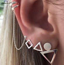 18 типов в ретро стиле, спираль прокалывания ушей пирсинг для пупка, поддельное кольцо для носа, заклепки в виде звезд, искусственный пирсинг,...(China)
