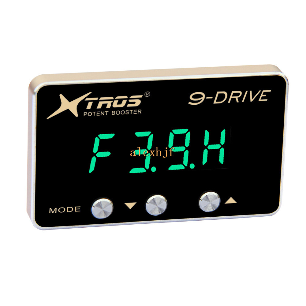Potent Booster 8th 9-Drive Electronic Throttle Controller, Car Throttle  Accelerator, 5mm Thickness 4-digit Display, TP Class