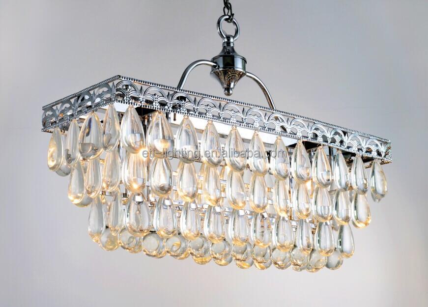 North American Country Oblong Chandelier Lightings Etl84126