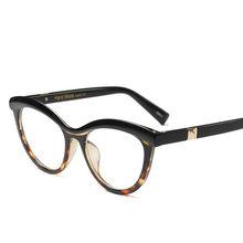 """KOTTDO солнцезащитные очки """"кошачий глаз"""", прозрачные очки оптические оправы для очков, очки для глаз для женщин lunette de vue homme(Китай)"""