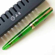 Wing Sung 618 прозрачный поршневая ручка, ручка с прозрачными чернилами, гладкий тонкий наконечник для письма, офисные и школьные принадлежности,...(Китай)