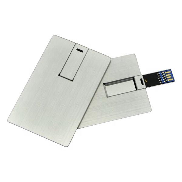 metal credit card USB flash drives 16gb 32gb usb card pen drive 64gb gadget - USBSKY | USBSKY.NET