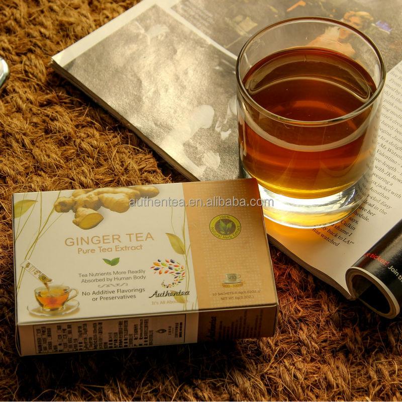 Instant Ginger Tea With Honey - 4uTea | 4uTea.com