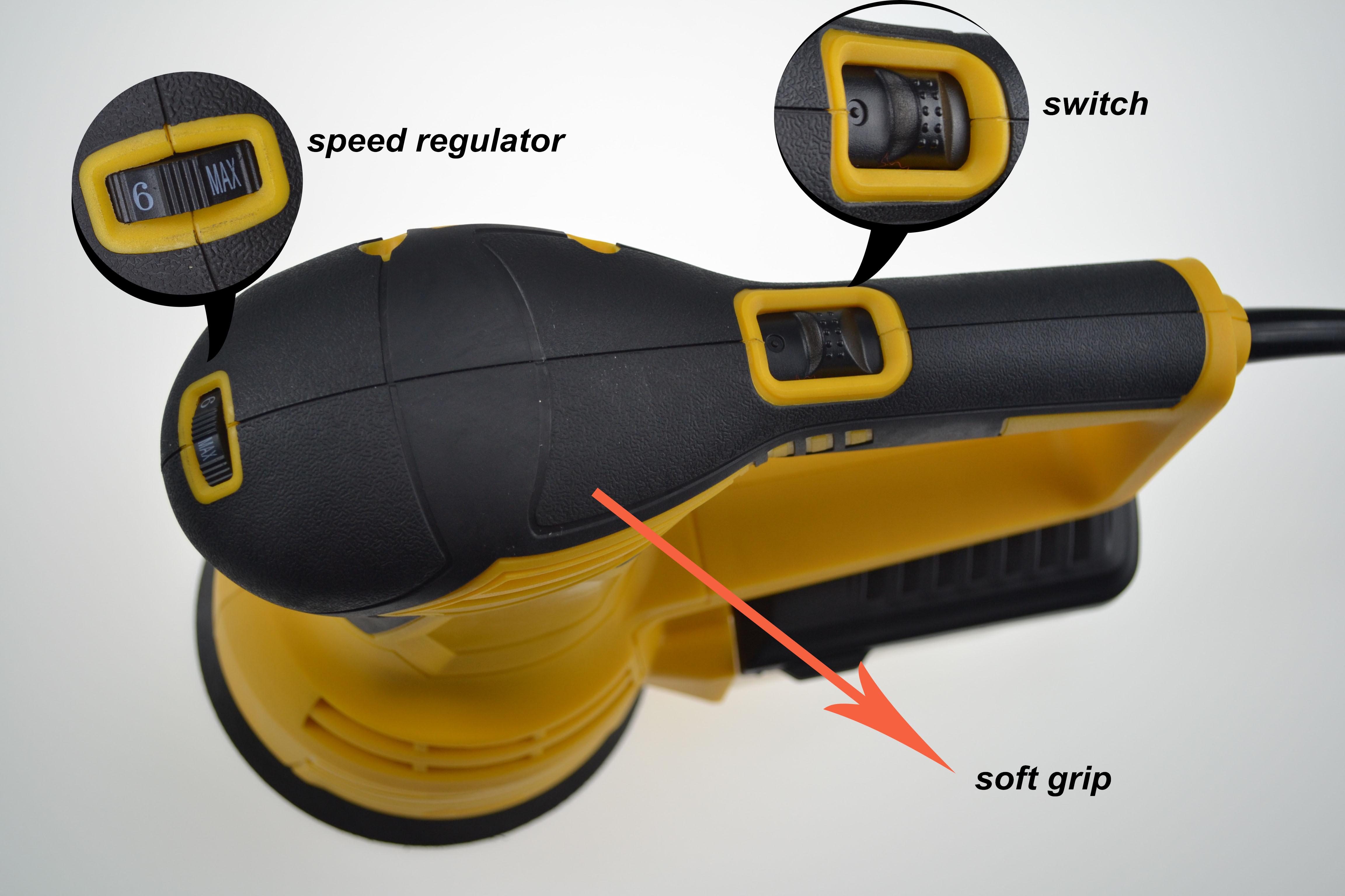 THPT AJ77 460 Вт 50 Гц 2,8 кг роторная шлифовальная машина для экспорта