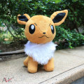 23cm Anime Pokemon Eevee Plush Toys Pocket Monster Kawaii Totoro Eevee Soft Stuffed Doll Kids Toys