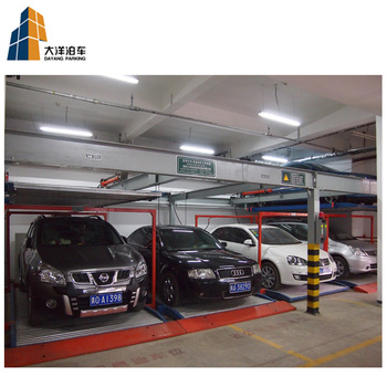 multi layer 2 floors puzzle auto parking lift car parking system for sale
