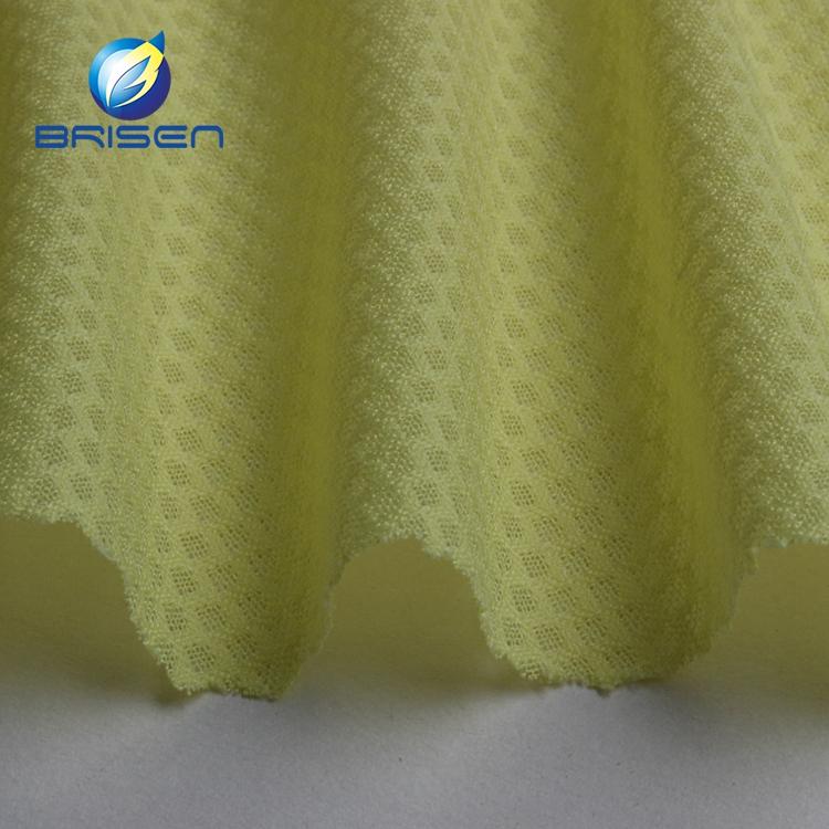 Factory fashion jacquard clothing mesh soft plain jersey dress fabrics