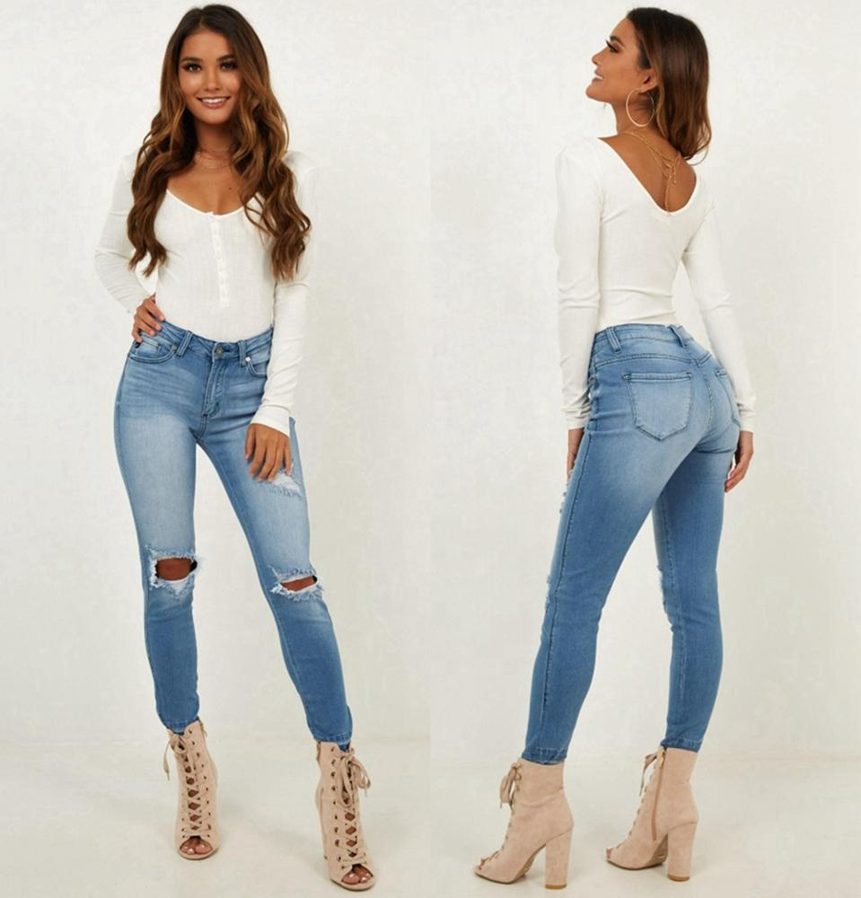 Urbana Europea Alta Rise Distressed Denim Pantalones Vaqueros Mujeres Sexy Roto Hueco Denim Jeans Buy Jeans De Tiro Alto Para Mujer Jeans Sexy Para Mujer Jeans Para Mujer Product On Alibaba Com