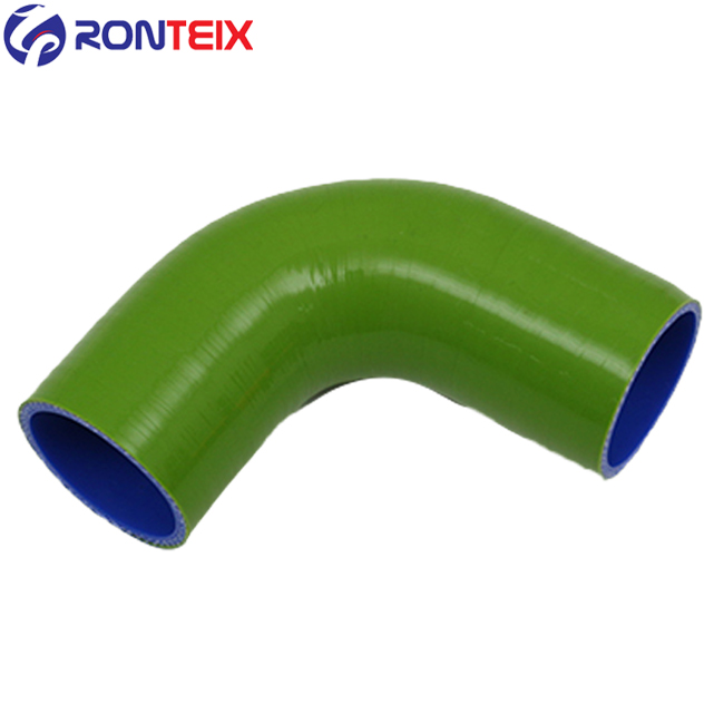 Ronteix 90 Degree Elbow Coupler ID 2-3//4 Inch Silicone Intercooler Hose 2.75 , Black 70MM
