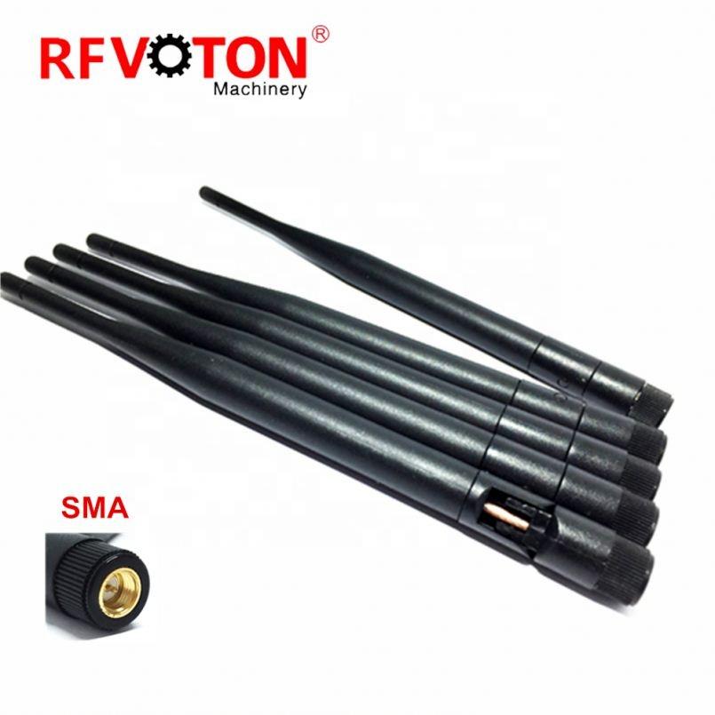 GSM 900-1900 МГц четырехдиапазонные каучуковые коммуникационные антенны Wifi Складная антенна с SMA разъемом