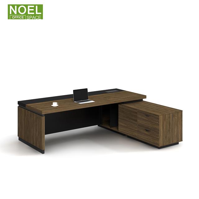 Офисный стол MDF роскошный современный офисный стол L-образный компьютерный стол офисная мебель