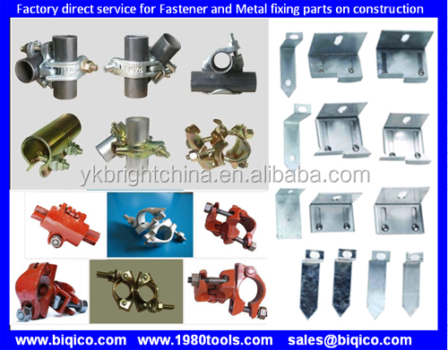 Fittings//Couplers//Clamps//Clips 48mm Tubes 1 x Forged Steel Scaffolding Double