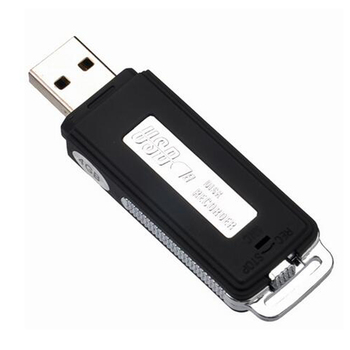 One Key Recording Mini U Disk Mini Portable Hidden Long Distance Spy USB Digital Voice Activated Recorder for Lectures