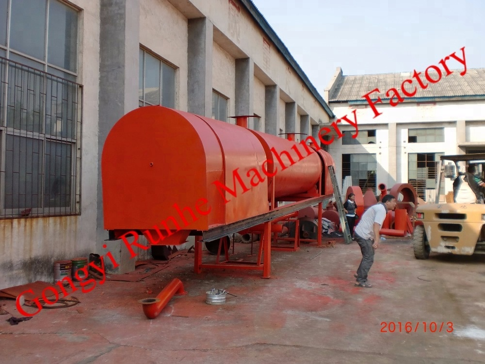 2016 activated carbon plant charcoal making machine with zero emission