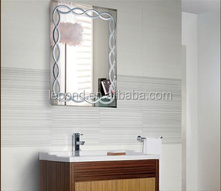 Bath Unframed Project Grooved Bathroom Mirror Buy Fancy Bathroom Mirrors Folding Bathroom Mirror Stylish Bathroom Silver Mirror Product On Alibaba Com