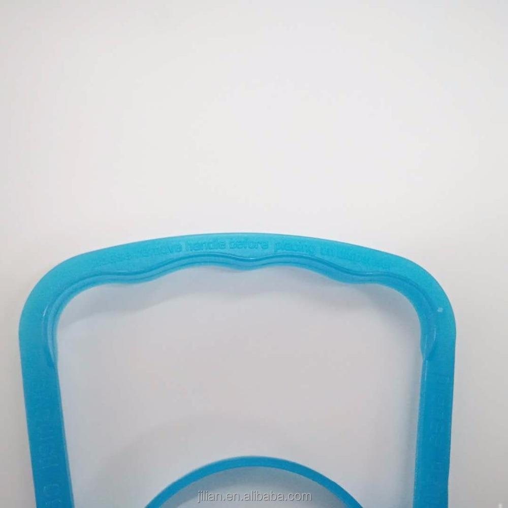 plastic handle 46MM PE plastic handle for 5L spring water bottle