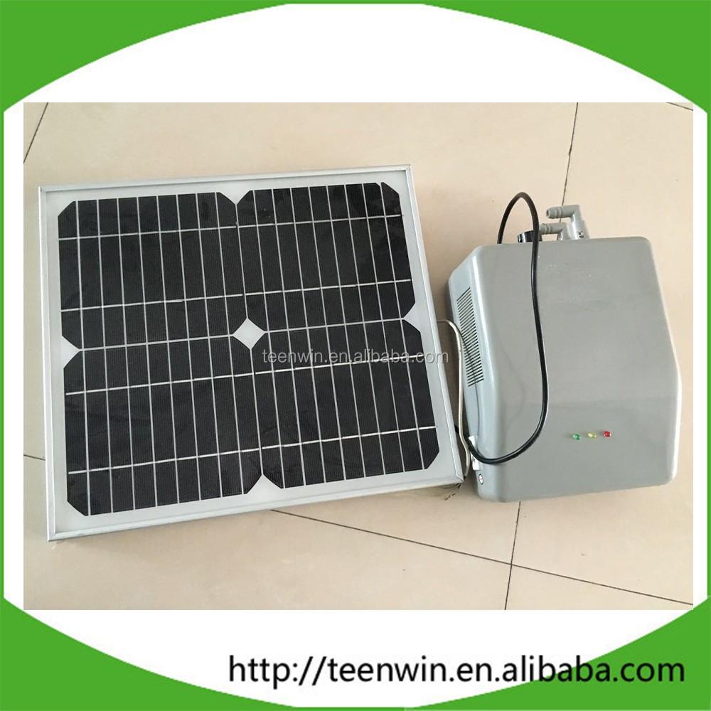 Биогазовый насос Teenwin с солнечным зарядным устройством