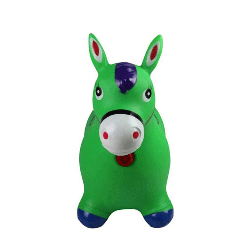 Promotional Kids Toy PVC Inflatable Animal Jumping Horses