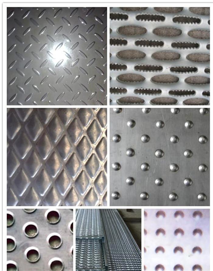Perforated Metal Stair Tread Steel Decking View