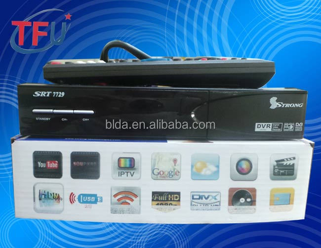 The Latest Strong 7729 Full Hd Digital Satellite Receiver