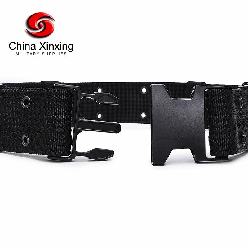 Xinxing, Черная Тесьма и пряжка, пластиковое полицейское правоохранительное оборудование, военный тактический ремень RB08