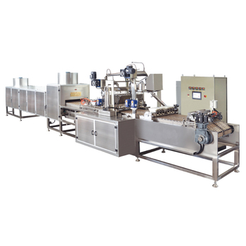 Stainless Steel Double Color Flat Automatic Lollipop Making Machine