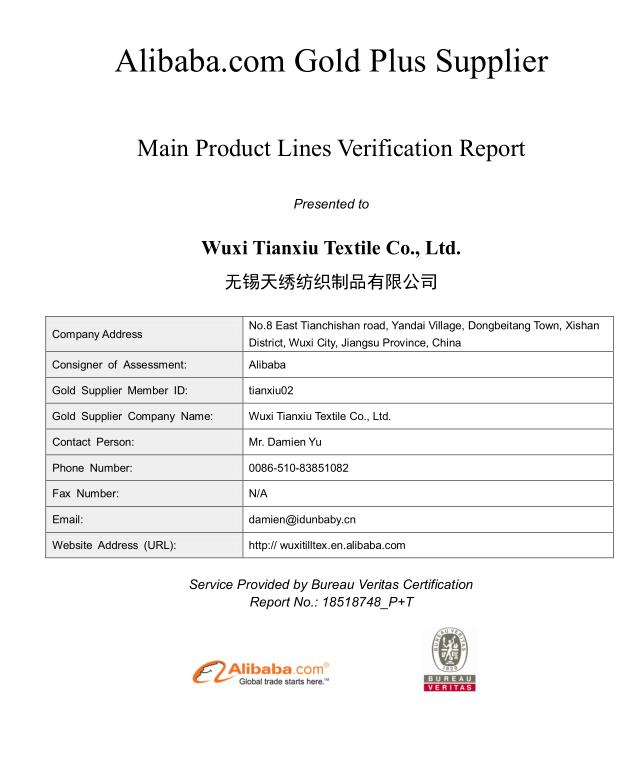 Main Product Lines Verification Report
