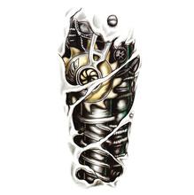 Kvalitní dočasné tetování – biomechanika, rukáv